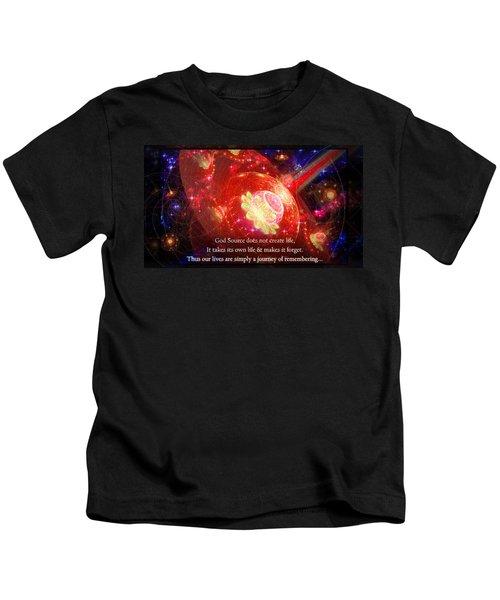 Cosmic Inspiration God Source 2 Kids T-Shirt