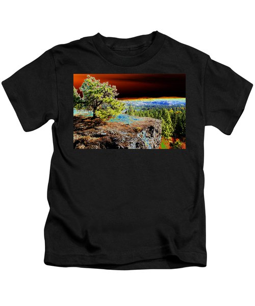 Cosmic Spokane Rimrock Kids T-Shirt