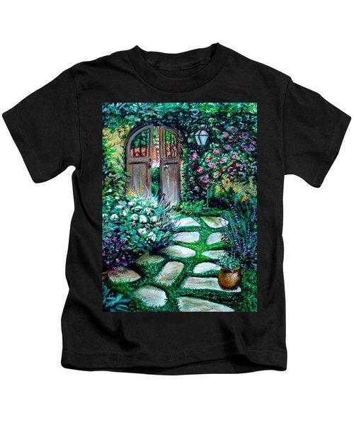 Cottage Gates Kids T-Shirt