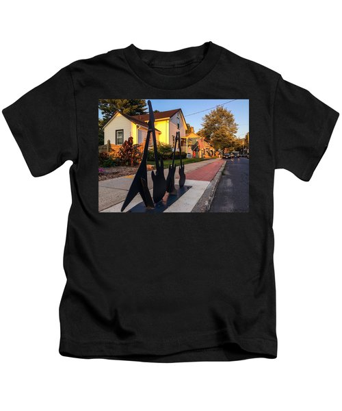 Cottage Street Guitars Kids T-Shirt