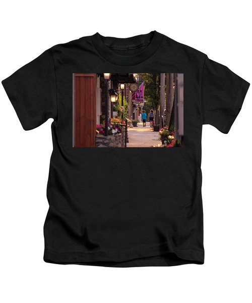 Cottage Street Stroll Kids T-Shirt
