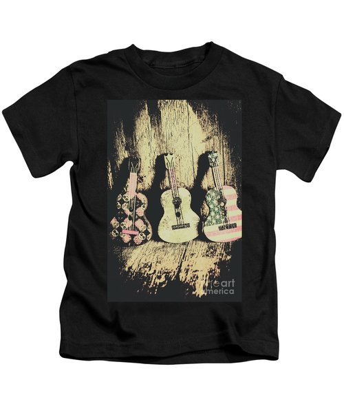Country And Western Saloon Songs Kids T-Shirt