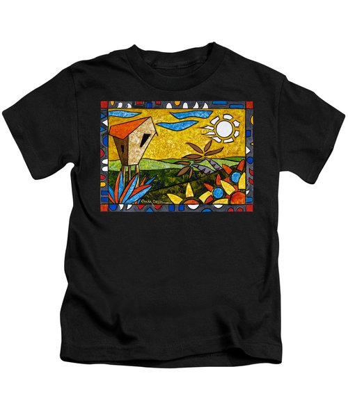 Country Peace Kids T-Shirt