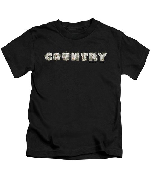 Country State Of Mind Kids T-Shirt