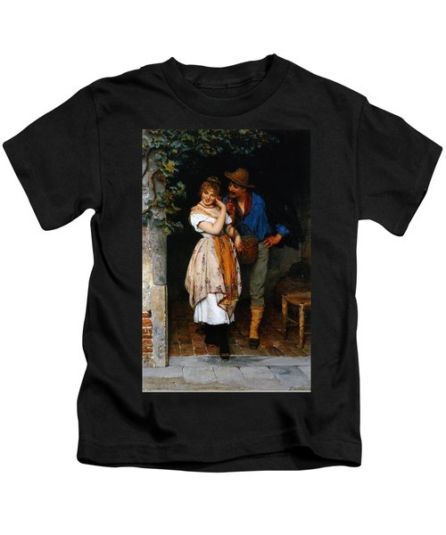 Couple Courting Kids T-Shirt