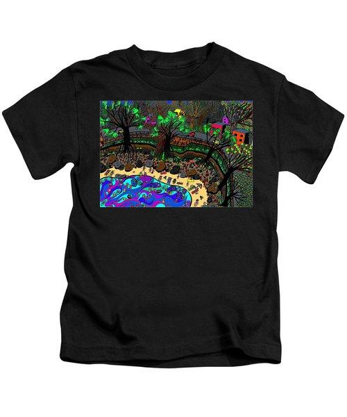 Cove Beach Kids T-Shirt