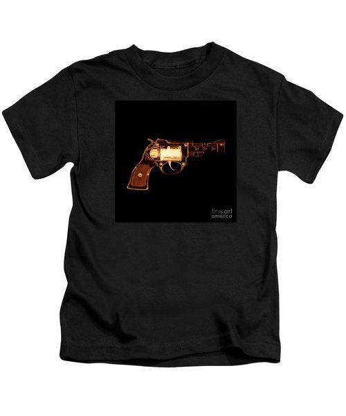 Cowboy Gun 002 Kids T-Shirt