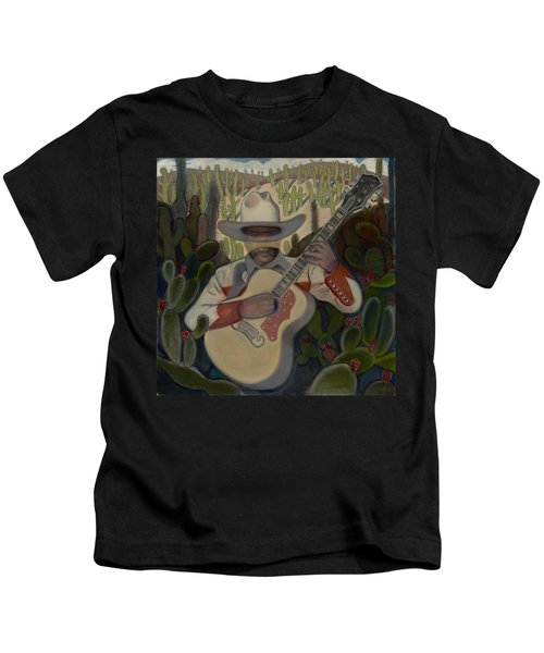 Cowboy In The Cactus Kids T-Shirt