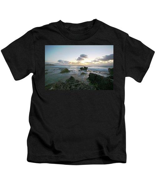 Cozumel Sunrise Kids T-Shirt