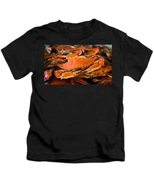 Crab Boil Kids T-Shirt