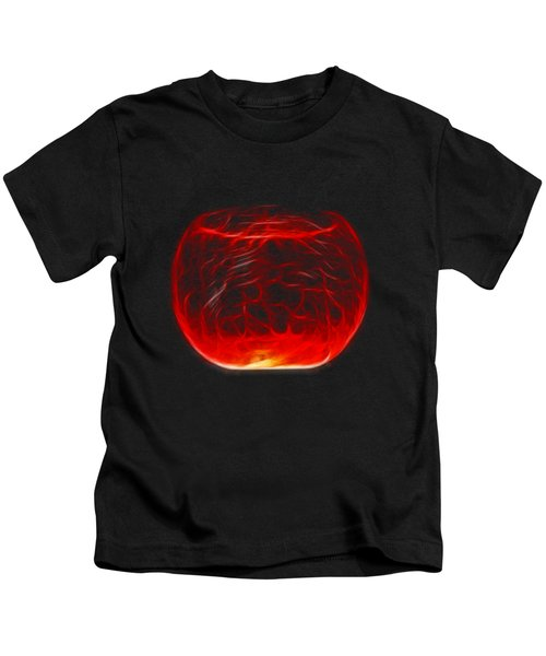Cracked Glass Kids T-Shirt