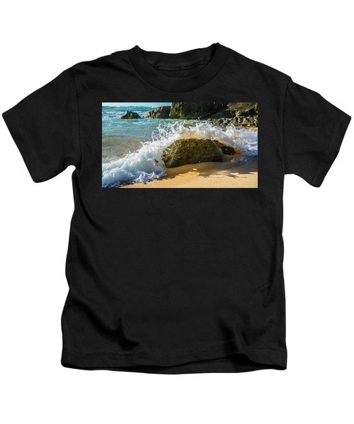 Crashing Over The Rock Kids T-Shirt