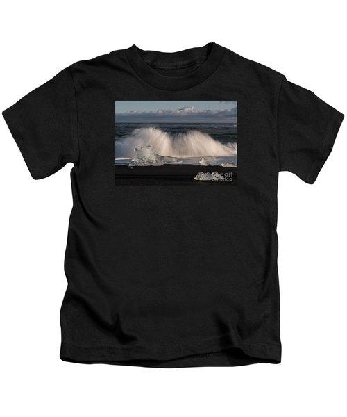 Crashing Waves Kids T-Shirt