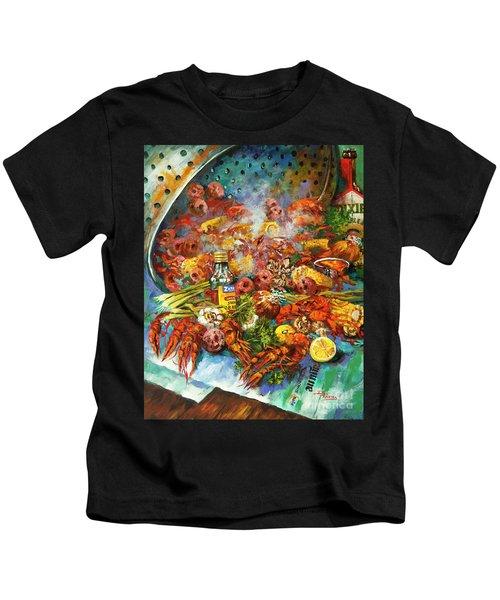 Crawfish Time Kids T-Shirt