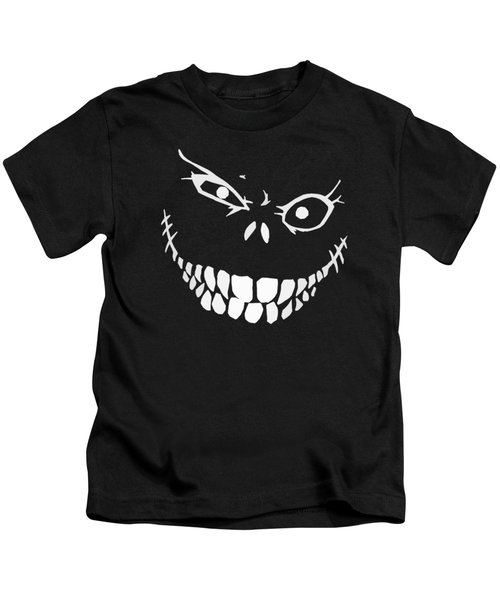 Crazy Monster Grin Kids T-Shirt