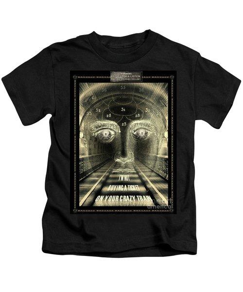 Crazy Train Kids T-Shirt