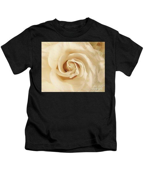 Creamy Rose Kids T-Shirt