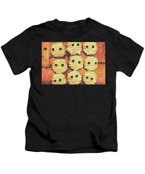 Creepy And Kooky Mummified Cookies  Kids T-Shirt