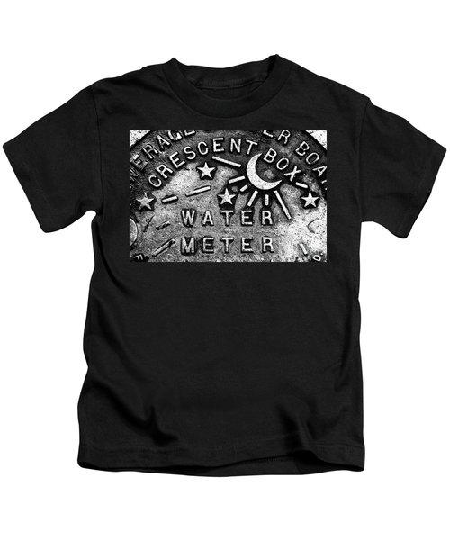Crescent Box New Orleans Kids T-Shirt