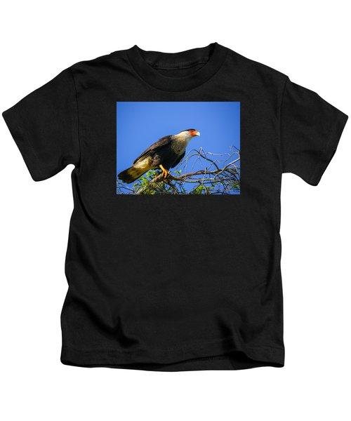 Crested Caracar Kids T-Shirt