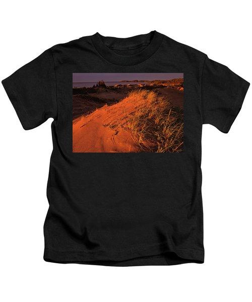 Crimson Dunes Kids T-Shirt