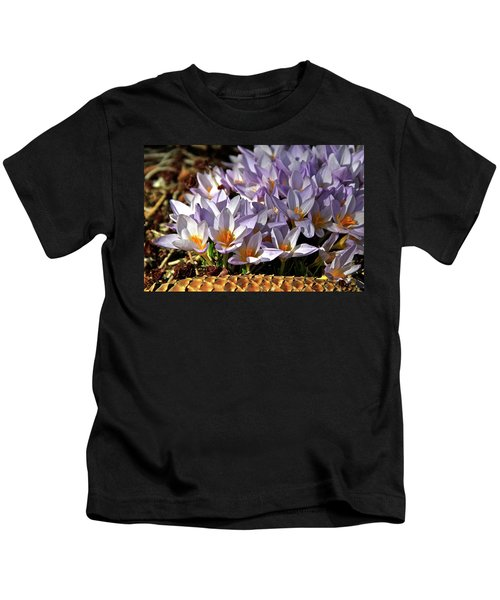 Crocuses Serenade Kids T-Shirt