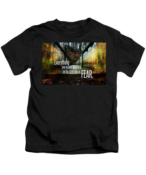 Crossing Fear Kids T-Shirt