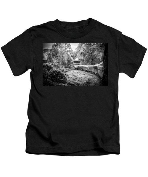 Crossing Paths  Kids T-Shirt
