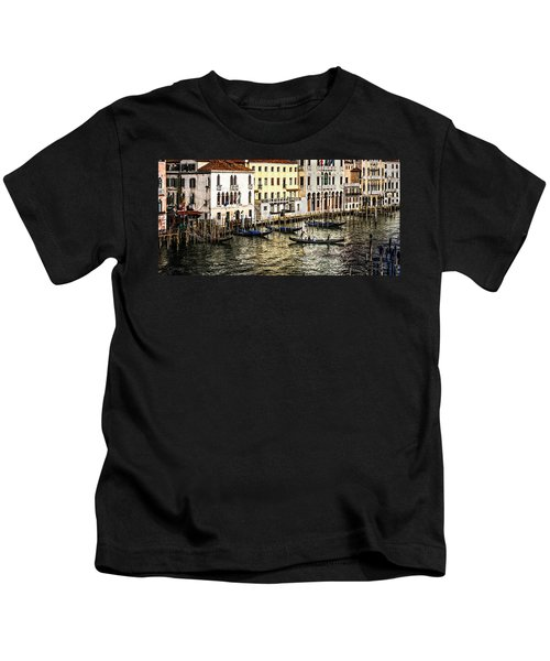 Crossing The Canal Kids T-Shirt