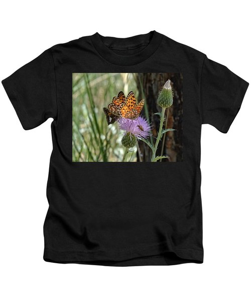 Crowded Thistle Kids T-Shirt