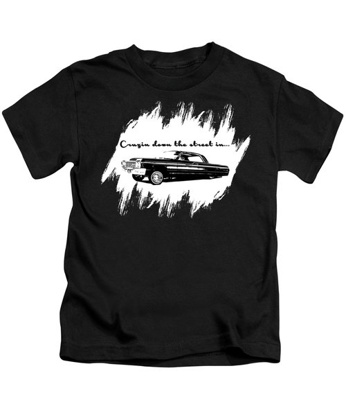 Cruzin Down The Street Kids T-Shirt