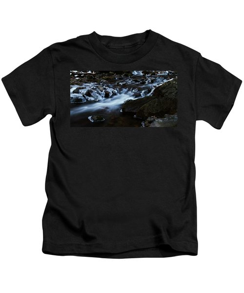 Crystal Flows In Hdr Kids T-Shirt