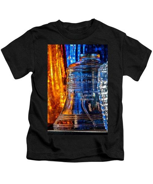 Crystal Liberty Bell Kids T-Shirt