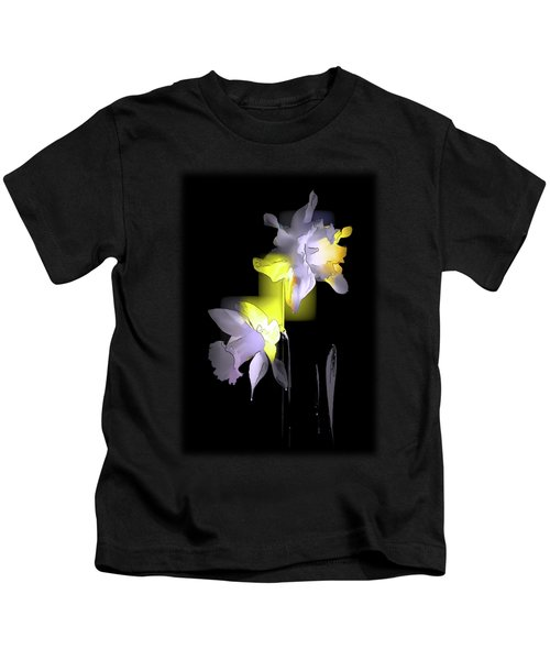 Cubist Daffodils Kids T-Shirt