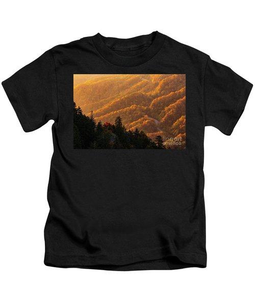 Smoky Mountain Roads Kids T-Shirt
