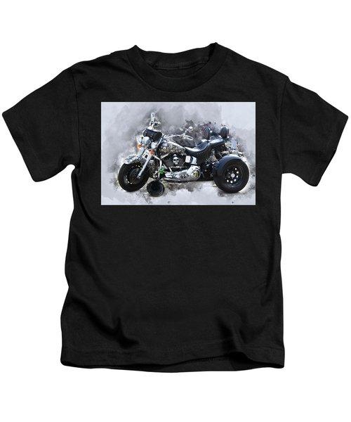 Customized Harley Davidson Kids T-Shirt
