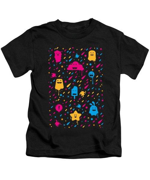 Cute Color Stuff Kids T-Shirt