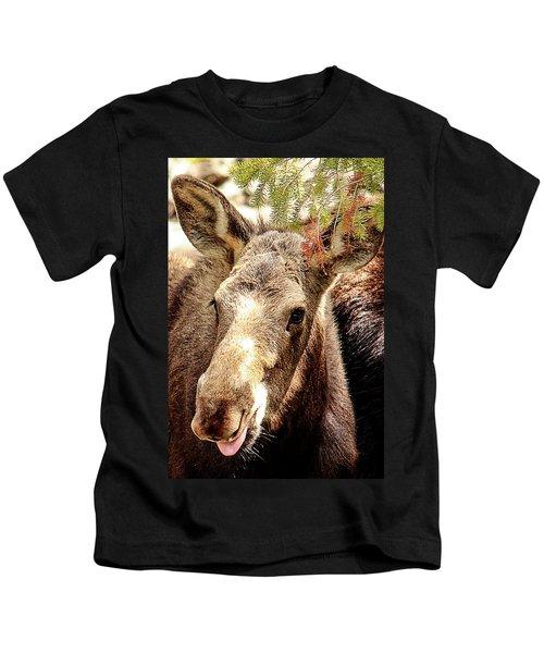 Cutie Moose Kids T-Shirt
