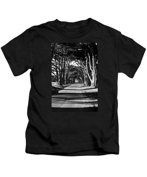Cypress Tree Tunnel Kids T-Shirt