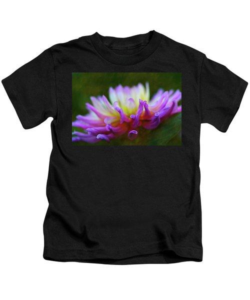 Dahlia Bloom  Kids T-Shirt