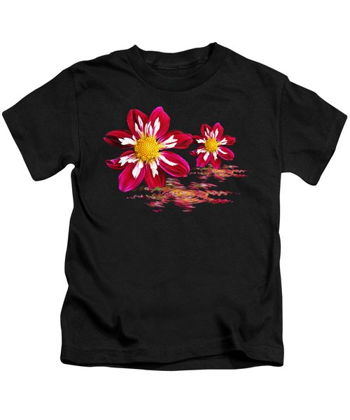 Dahlia Reflections Kids T-Shirt