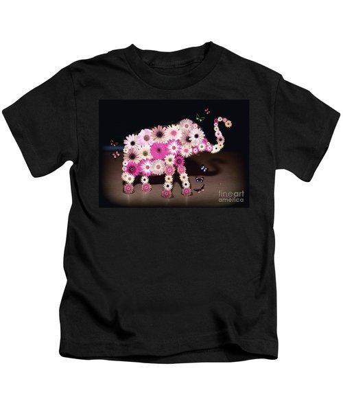 Daisy Elephant Kids T-Shirt