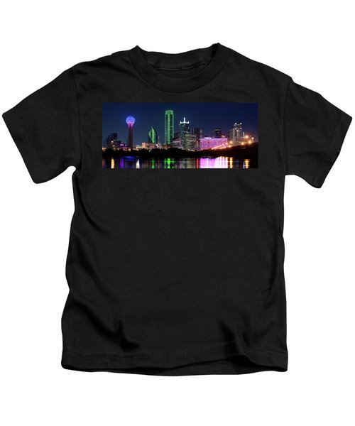 Dallas Colors Pano 2015 Kids T-Shirt
