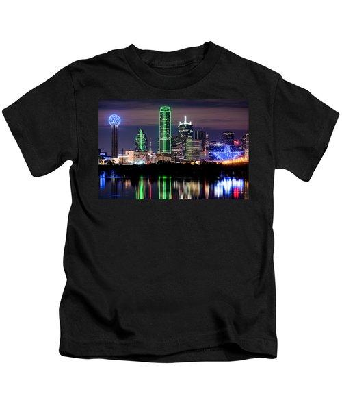 Dallas Cowboys Star Skyline Kids T-Shirt