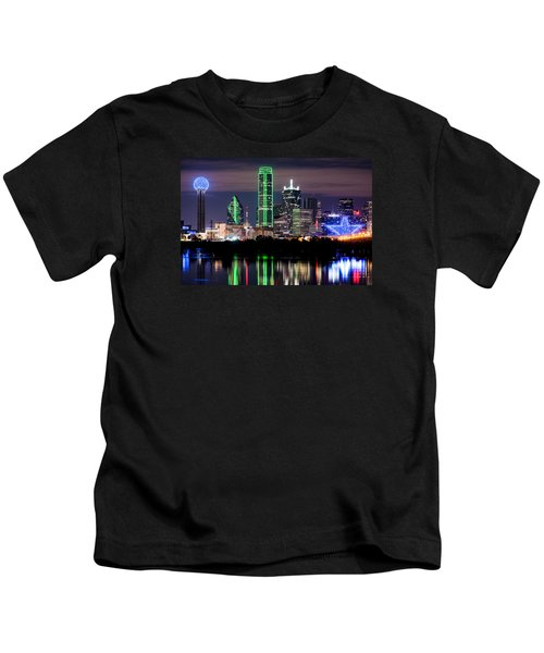 Dallas Cowboys Star Skyline Kids T-Shirt