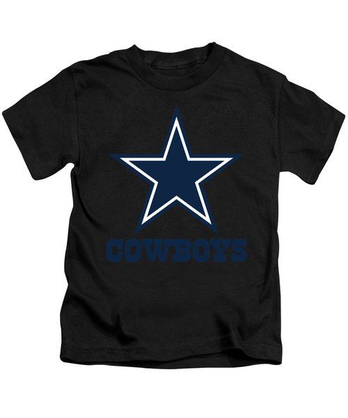 Dallas Cowboys Translucent Steel Kids T-Shirt