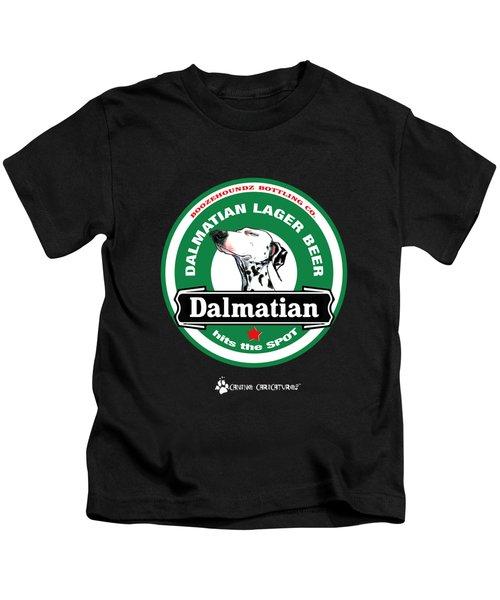 Dalmatian Lager Beer Kids T-Shirt
