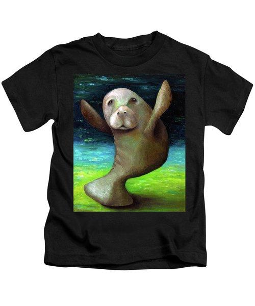 Dance Of The Manatee Kids T-Shirt