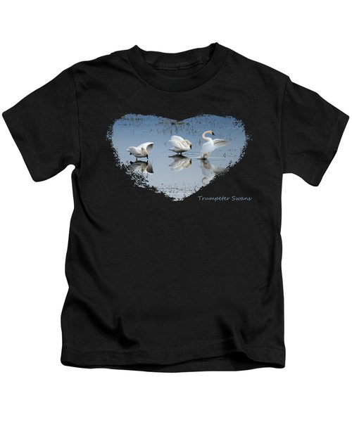 Dance Of The Trumpeters 4 Kids T-Shirt