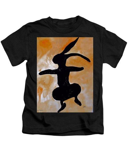 Dancing Bunny Kids T-Shirt